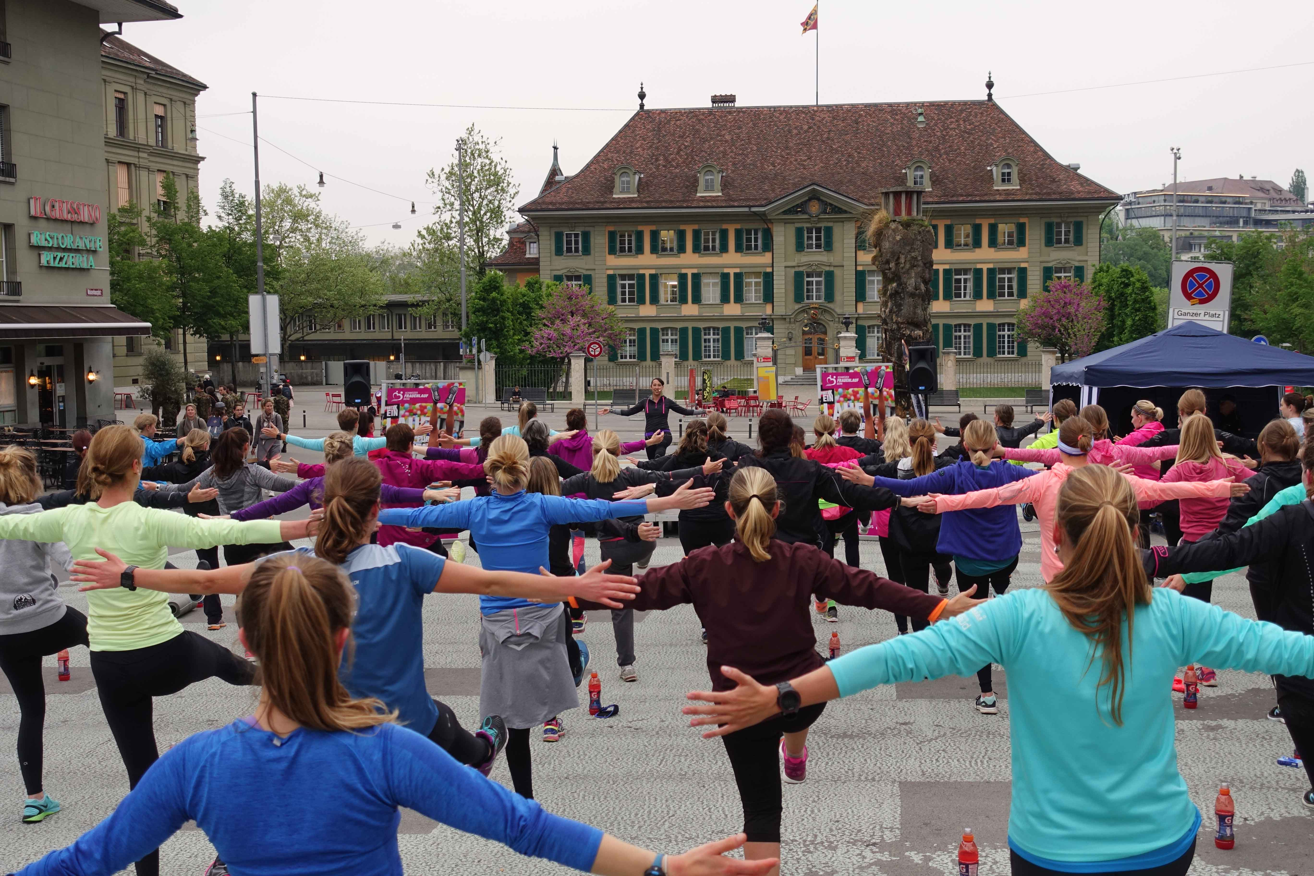 Kick Off 2018 Frauenlauf